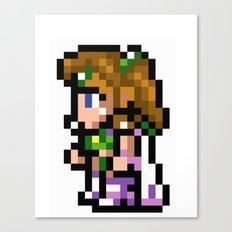 Final Fantasy II - Rosa Canvas Print