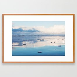 Morning Ocean Framed Art Print