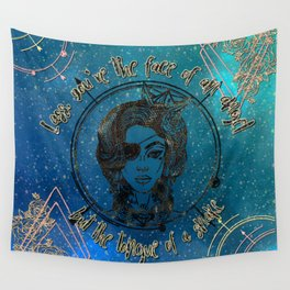 Face of an Angel Wall Tapestry