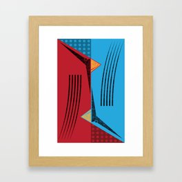 flip flop Framed Art Print