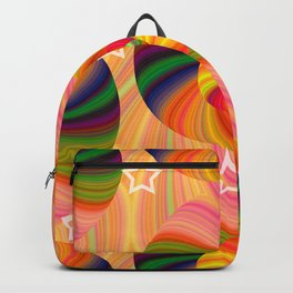 Abstract Swirls and Twirls Backpack