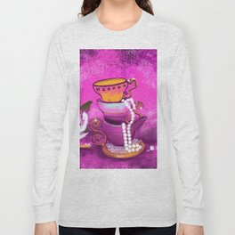 Cups and Pearls Long Sleeve T-shirt