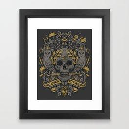 ARS LONGA VITA BREVIS Framed Art Print