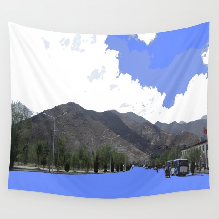Lots Of Fresh Air Wall Tapestry