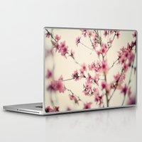sakura Laptop & iPad Skins featuring Sakura by Laura Ruth