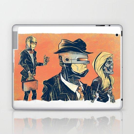 White Collar Robots Laptop & iPad Skin