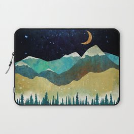 Snowy Night Laptop Sleeve