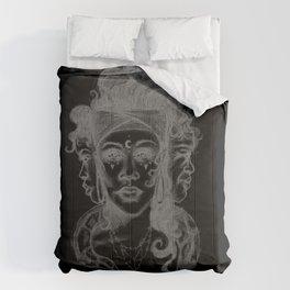 Dark Goddess Comforters