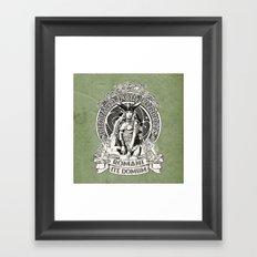 Boudicca: Original Nationalist Framed Art Print