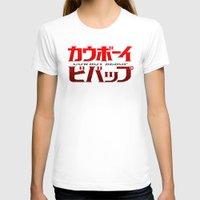 bebop T-shirts featuring Cowboy Bebop Logo Remix by InvaderDig