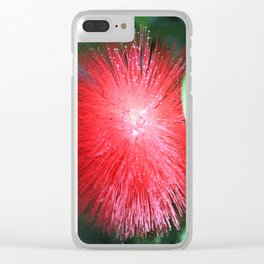 Flower No 1 Clear iPhone Case