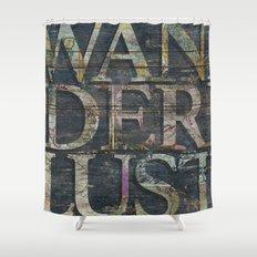 Reclaimed Wanderlust Shower Curtain
