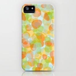 Pebbles Orange iPhone Case