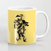 majoras mask Mugs featuring Skullkid / zelda / majoras mask by tshirtsz