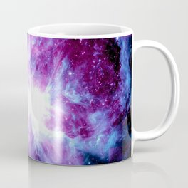 Orion Nebula Purple Periwinkle Blue Galaxy Coffee Mug