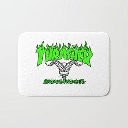 thrasher mag logo tattoos Bath Mat