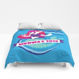 Cute Mermay Mermaid Art Challange Comforters