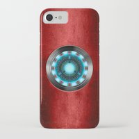 iron man iPhone & iPod Cases featuring Iron Man Iron Man by ThreeBoys