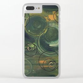 Echoes Clear iPhone Case
