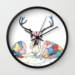 The children of restlessness Wall Clock