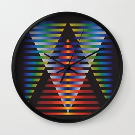 Treasure No. 6 Wall Clock