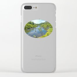 Magnificent tranquil river Clear iPhone Case
