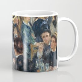 Auguste Renoir -Bal du moulin de la galette, Dance at Le moulin de la Galette Coffee Mug