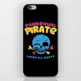 Pansexual Pirate iPhone Skin