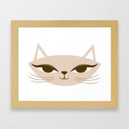 Playful Kitty Framed Art Print
