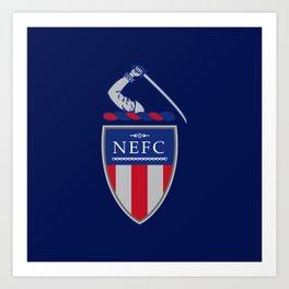 NEFC (English) Art Print