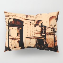 Horse and Carriage Pillow Sham