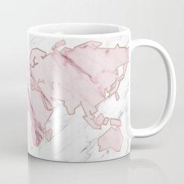 Wanderlust marble - pink stone Coffee Mug