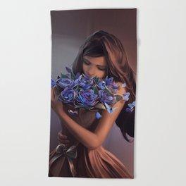 Ephemeral Beauty Beach Towel