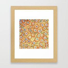 Marvelous Galaxies Pattern Framed Art Print