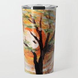 Tree on Tree Travel Mug