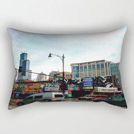 Never Willis  Rectangular Pillow