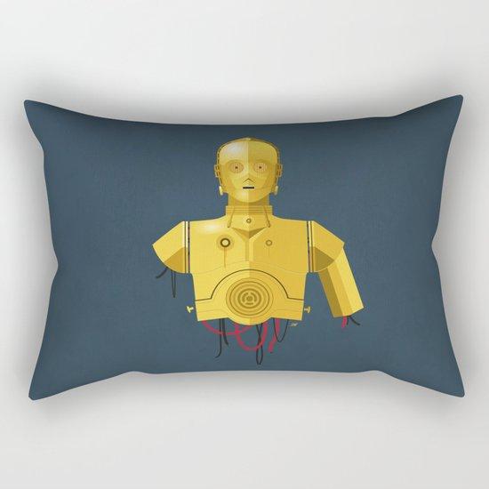 Never Tell Me The Odds (C3P0) Rectangular Pillow