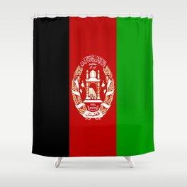 Flag Of Afghanistan Shower Curtain