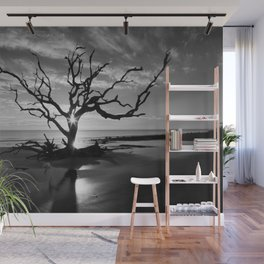 Tree at Sunrise Wall Mural