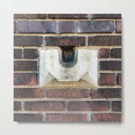 Old Waterspout Metal Print