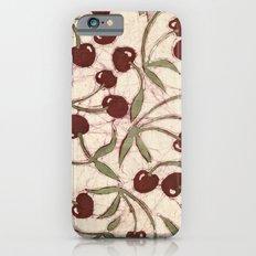 Sweet Cherry Batik iPhone 6s Slim Case