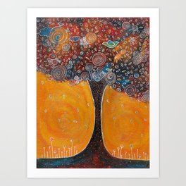 Magic Tree 1 Art Print