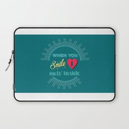 First Date Laptop Sleeve