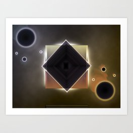 Untitled Abstract #1 Art Print