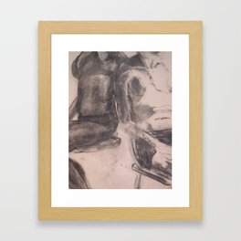 Age Difference Macro Framed Art Print