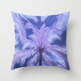 candy palms Throw Pillow