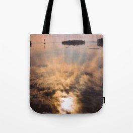 spring reflection Tote Bag