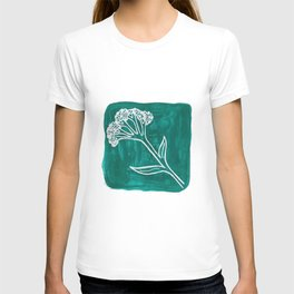Wildflower Bundle Acrylic Painting T-shirt