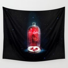 Beauty and The Beast Rose Flower Wall Tapestry