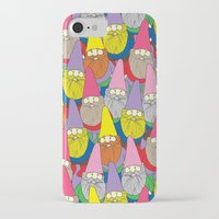 gnome iPhone & iPod Cases featuring Mister Gnome by Lydia Meiying
